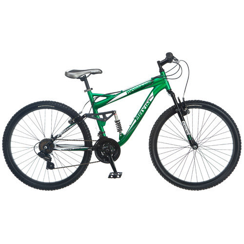 Mongoose Men's 26'' Maxim Full Suspension Mountain Bike