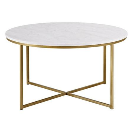 Walker Edison X Base Coffee Table
