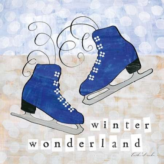 Winter Wonderland IV Poster Print by Caitlin Dundon