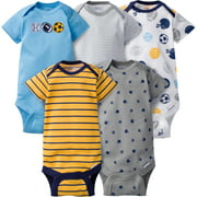 Gerber Baby Boy Onesies Multi-Sports - 5 Pack - Newborn