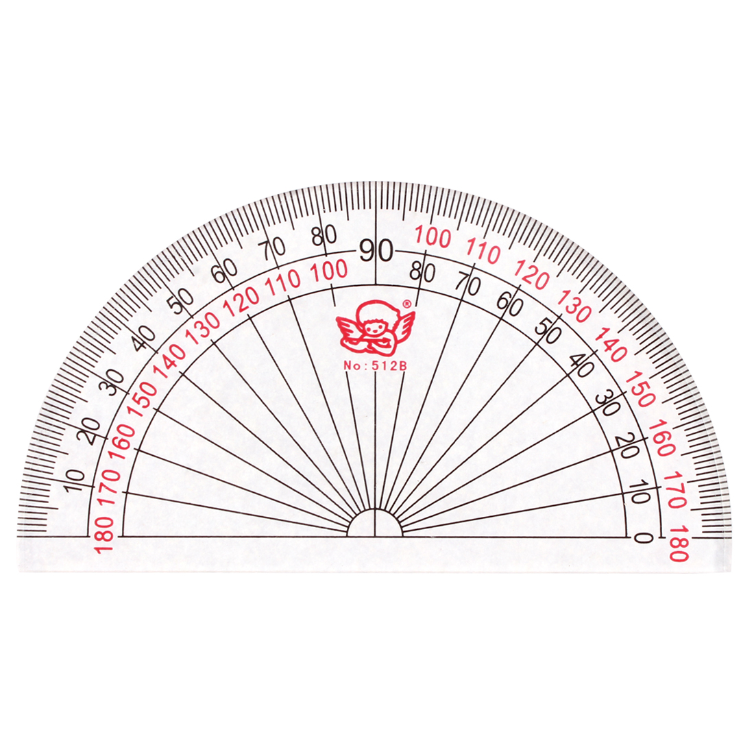 Unique Bargains Office Students Plastic Drafting Drawing Measuring Tool Stationery Protractor