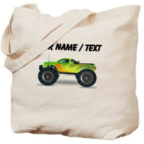 Cafepress Personalized Custom Monster Truck Tote Bag