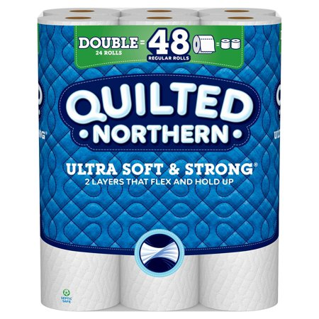 Quilted Northern Ultra Soft & Strong Toilet Paper, 24 Double