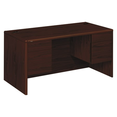 HON 10700 Series Desk, 3/4 Height Double Pedestals, 60w x 30d x 29 1/2h,