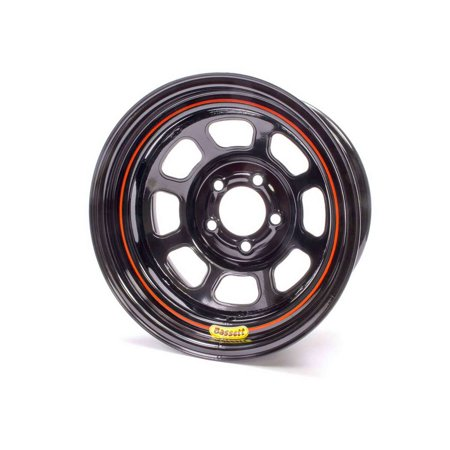 Bassett Dot Street Legal 15X7  5X5 00 Black Wheel P N 57R52