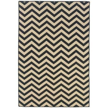 Chevron Wool Rug (Hawthorne Collection 5' x 8' Hand Woven Chevron Wool Rug in Gray)
