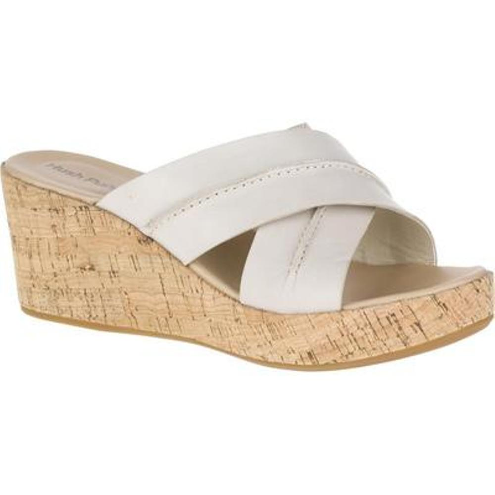 Hush Puppies Belinda Durante Womens Off White Sandals by Hush Puppies