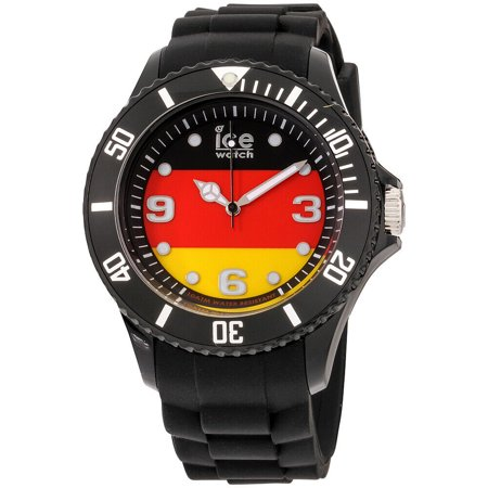 Ice- World Germany Edition Multi-Color Dial Silicone Strap Unisex Watch WO.DE.B.S.12 (German Watches For Women)