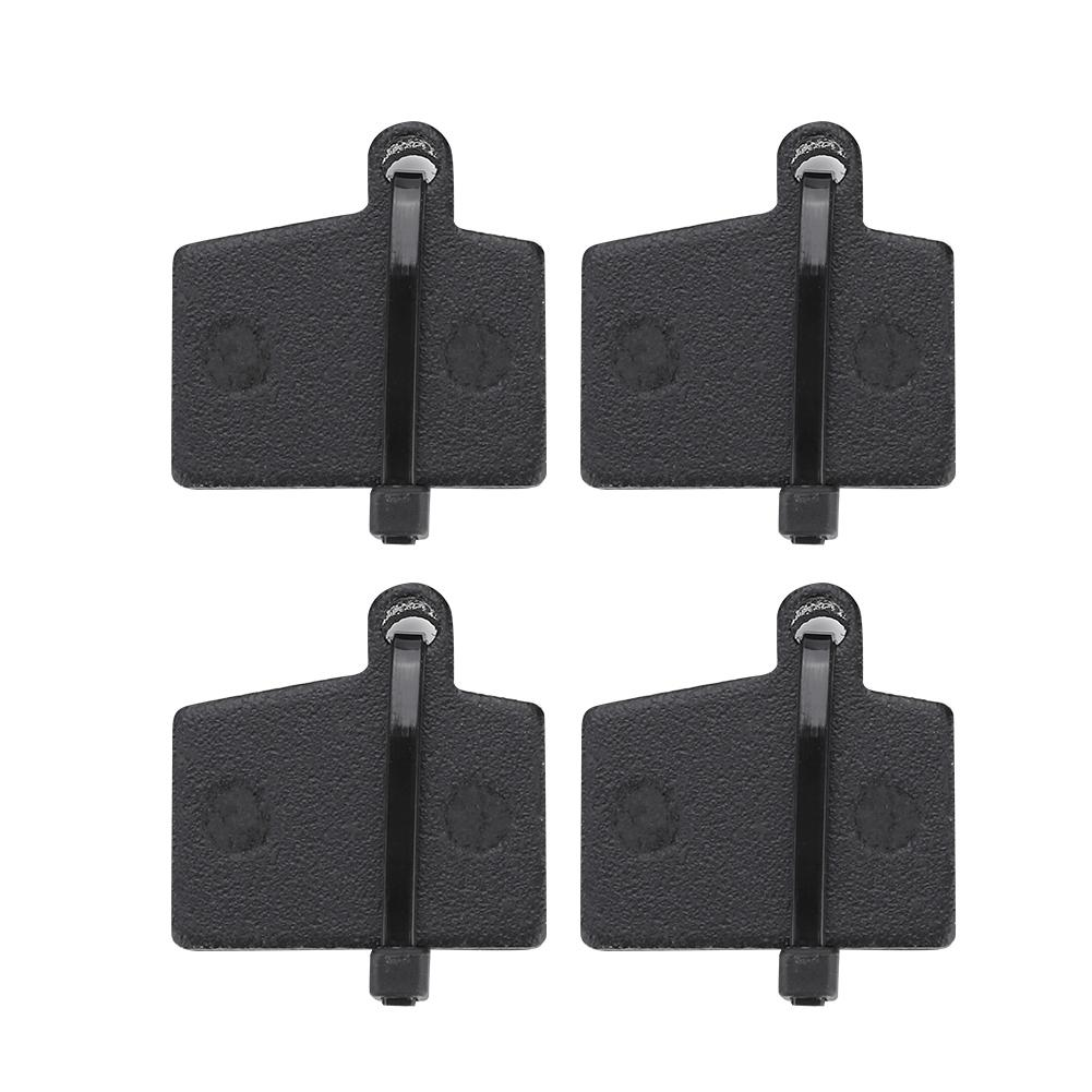 BIKEIN 4 Pairs Bicycle Disc Resin Brake Pads with Metal Clamps for Hayes Stroker RYDE Dyno Sport