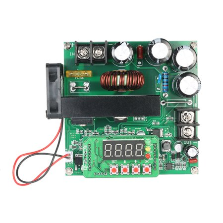 Series Power Supply Module - 900W Digital Control DC-DC Boost Module 0-15A IN 8-60V OUT 10-120V Step-up Converter Power Supply CC/CV LED Display