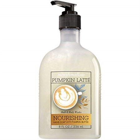 bath & body works ~ marshmallow pumpkin latte ~ nourishing hand soap with pumpkin butter ~ 8 fl oz ~ fall