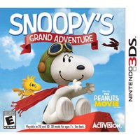 Peanuts Movie: Snoopy's Grand Adventure, Activision, Nintendo 3DS, 047875770881