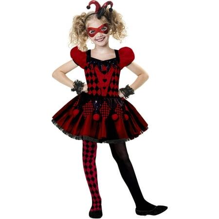 harlequin cutie child halloween costume - Walmart Costumes Halloween Kids