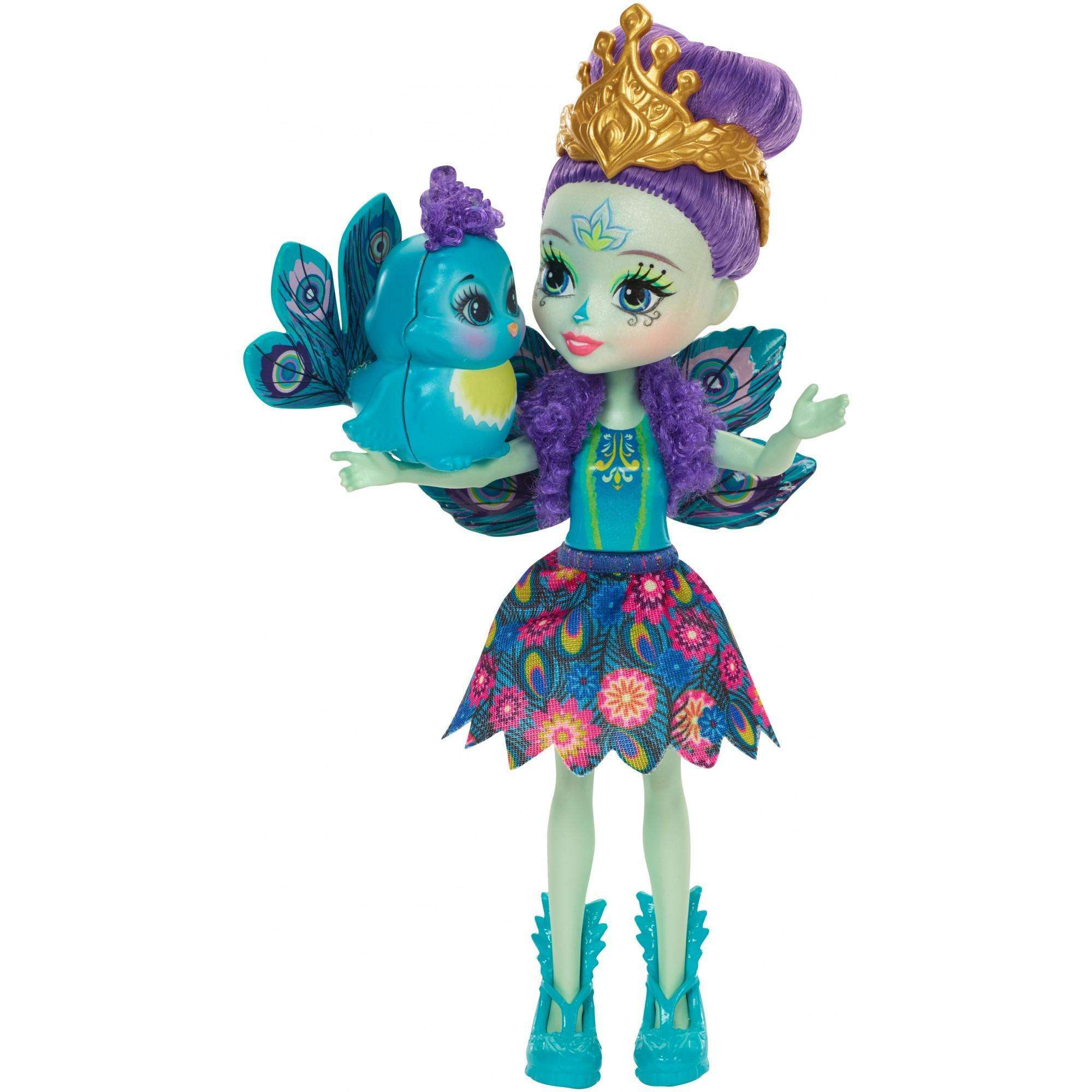 Enchantimals Patter Peacock Doll by Mattel