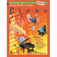 Alfred's Basic Piano Library: Alfred's Basic Piano Library Top Hits! Duet Book, Bk 2 (Paperback)