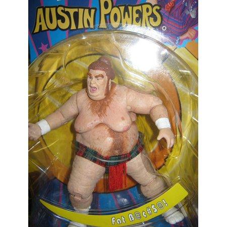 Austin Powers - Fat Bastard Action Figure - 2002 Mezco - Fat Bastard In Austin Powers