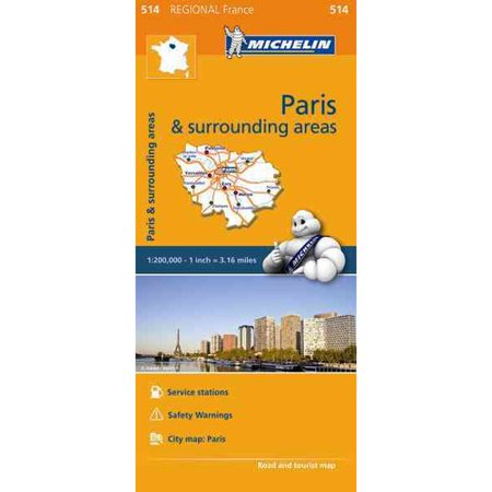 Michelin Regional Paris   Surrounding Areas