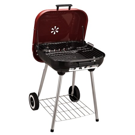 """22"""" Barbecue Grill Charcoal Kettle Portable Outdoor BBQ Grilling - image 3 of 7"""