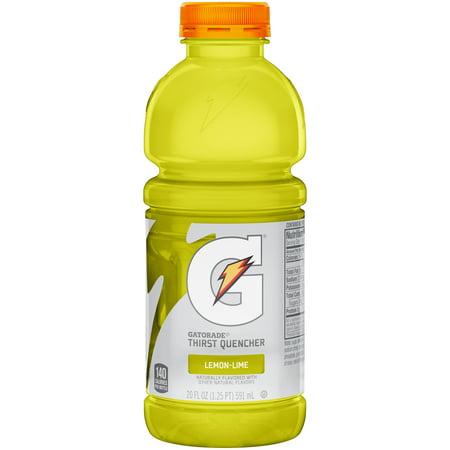 Gatorade Lemon Lime Sports Drink - 20 fl oz Bottle