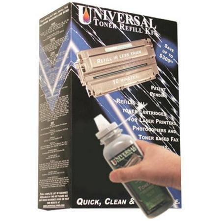 Universal Inkjet Premium Toner Refill Kit for Konica Minolta QMS Magicolor 2200, Epson AcuLaser C1000/C2000/C3000 ()