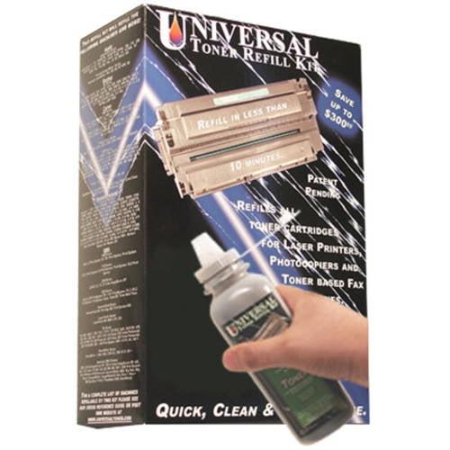 Universal Inkjet Premium Toner Refill Kit for Konica Minolta QMS Magicolor 2200, Epson AcuLaser C1000/C2000/C3000