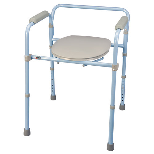 Carex 3-in-1 Folding Commode - Portable Toilet For Adults and Bedside Commode Chair - Walmart.com  sc 1 st  Walmart & Carex 3-in-1 Folding Commode - Portable Toilet For Adults and ...