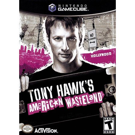 Gc - Tony Hawk American Wasteland (Photograph Tony Hawk)