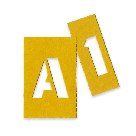 Chartpak Painting Letters & Numbers Stencil - 1