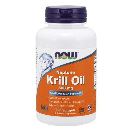 NOW Supplements, Neptune Krill Oil, Phospholipid-Bound Omega-3, 120