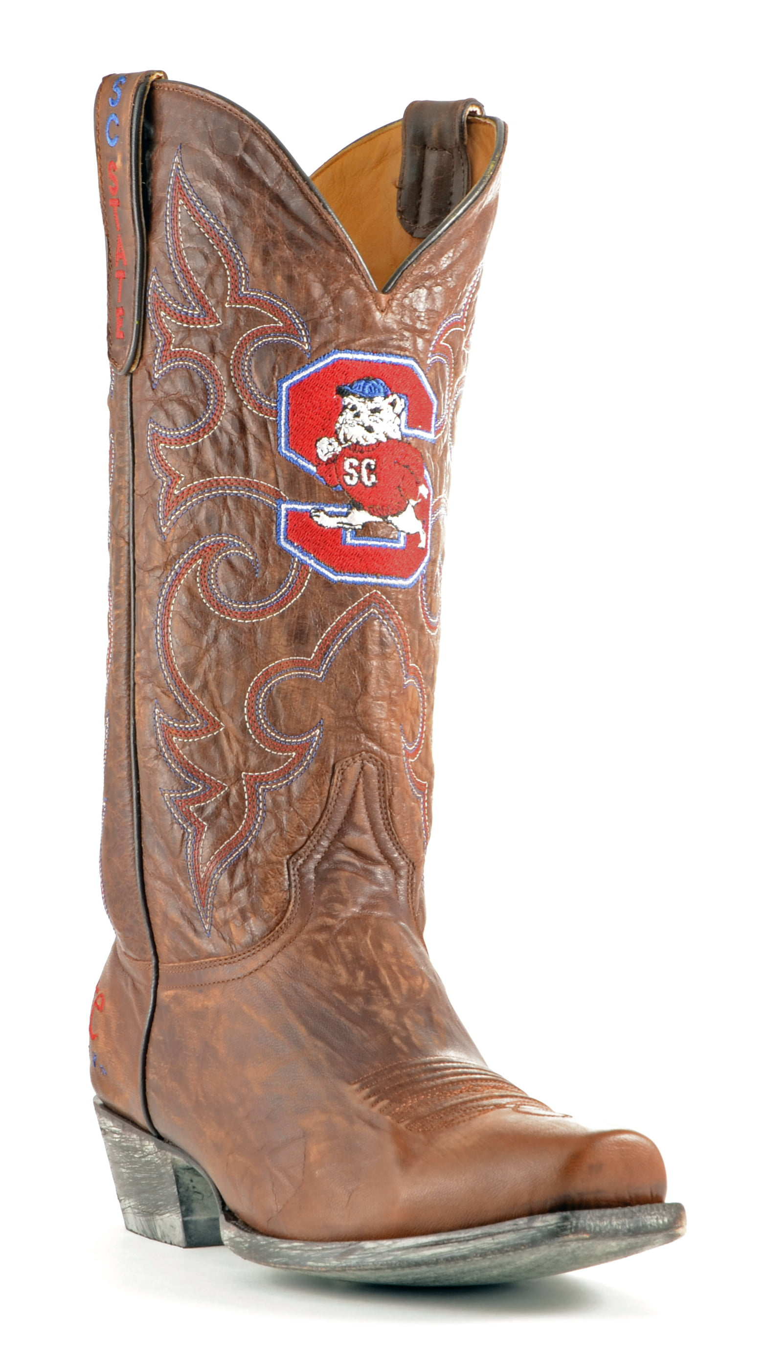 Gameday Boots Leather S Carolina St Board Room Cowboy Boots by GameDay Boots