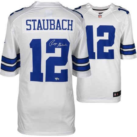low priced 0d38c a4959 Roger Staubach Dallas Cowboys Throwback Jersey