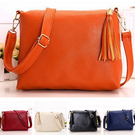 Leather Hobo Style Handbag (New Fashion Leather Hobo Handbags For Women Crossbody Messenger Bag Shoulder Bag )