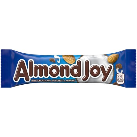 Image of ALMOND JOY Bars, 1.61 oz, 36 Count