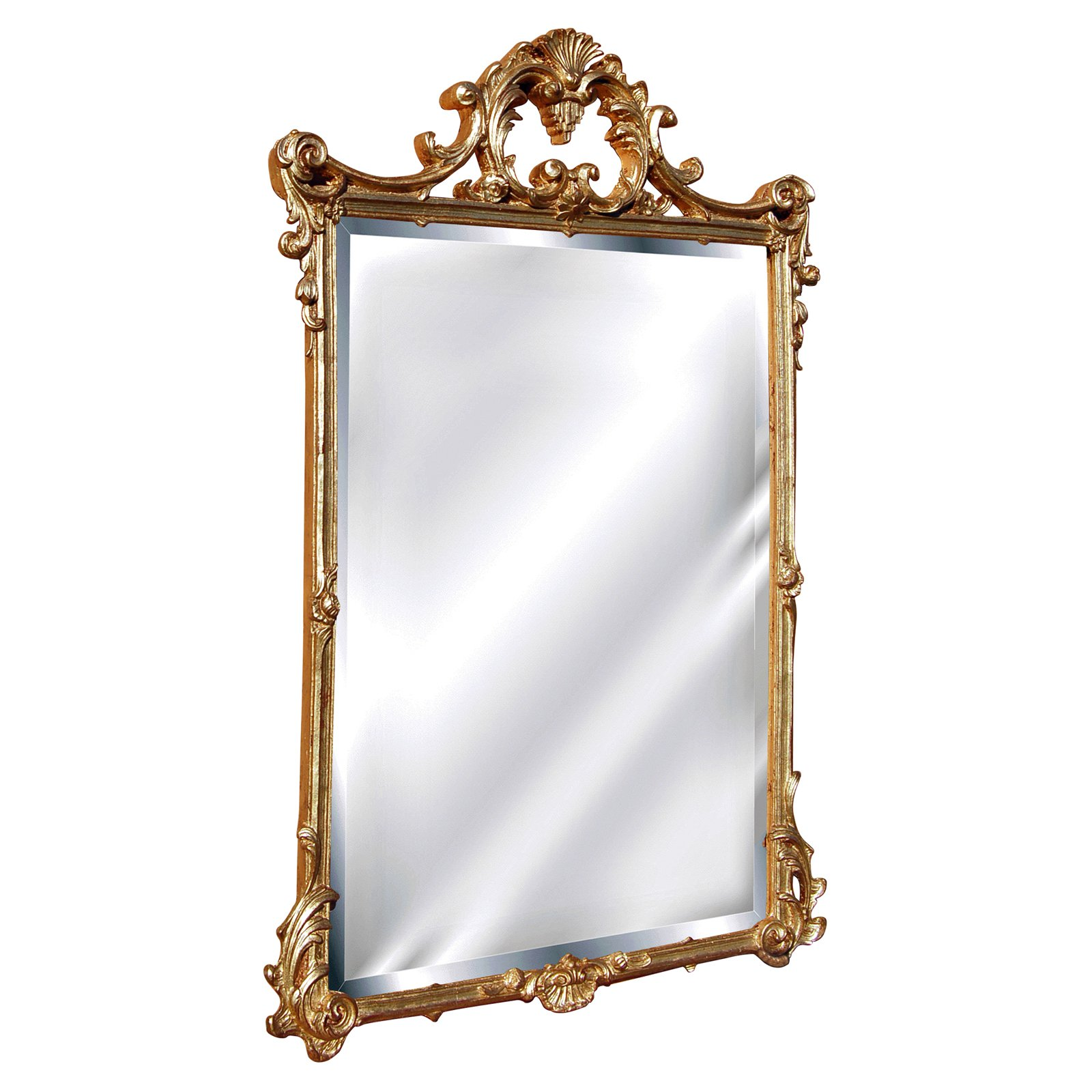 Hickory Manor House English Arch Wall Mirror - 26W x 39H in.