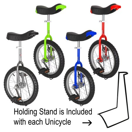 T4B FREESTYLE UNICYCLE 16-Inch Wheel - Leakproof Butyl Wheel Tire - Outdoor Sports Fitness Exercise Health - image 7 de 8
