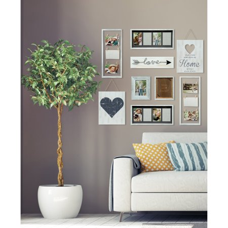 - Pinnacle Frames Heart Decor White Collage Kit Picture Frame