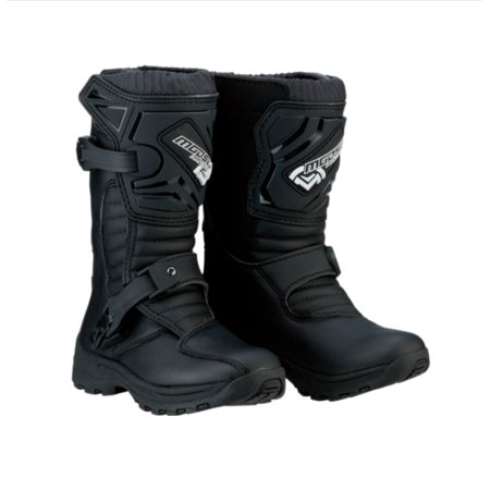 Moose Racing M1.3 Solid Kids MX Offroad Boots Black