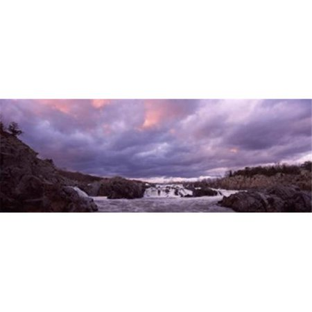 Panoramic Images PPI129067L Water falling into a river  Great Falls National Park  Potomac River  Washington DC  Virginia  USA Poster Print by Panoramic Images - 36 (Potomac Mills Virginia)