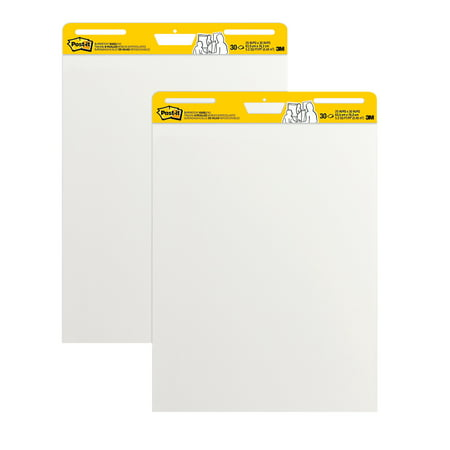 Post-It Ungridded Easel Pads, 2 pads