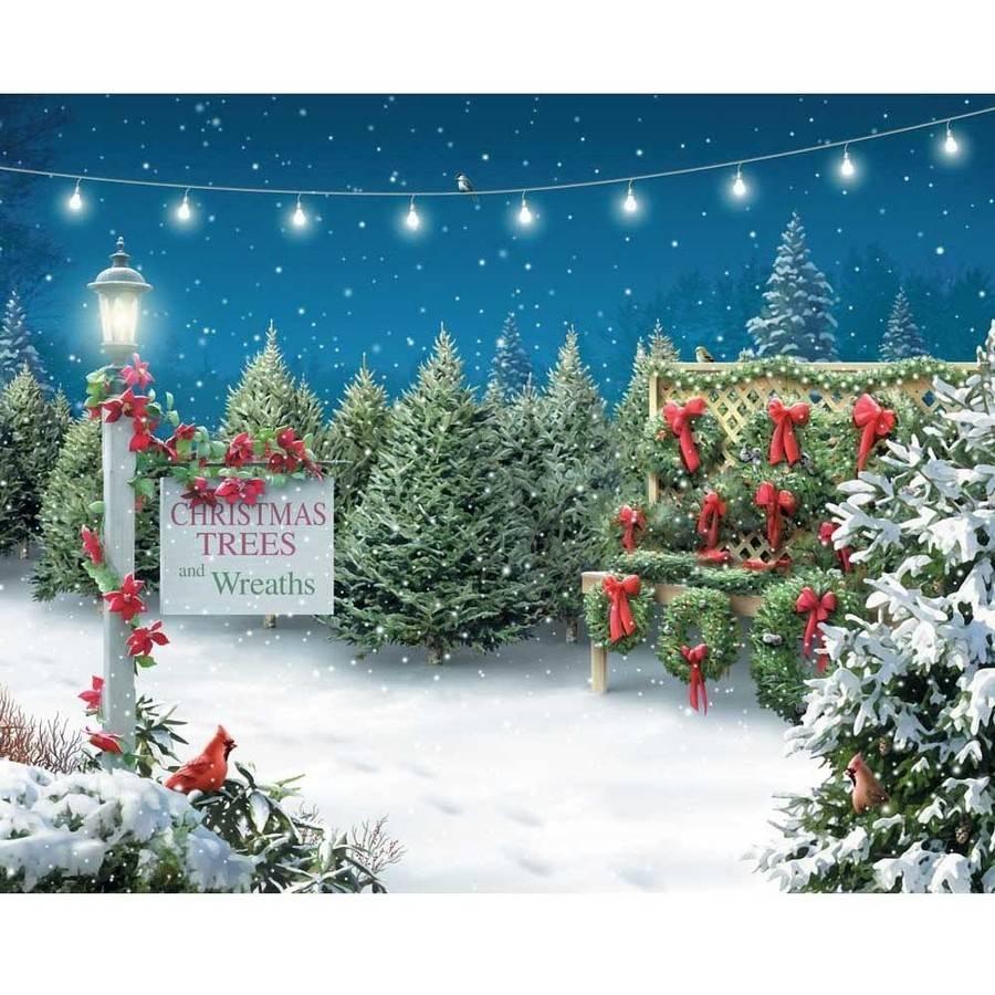 Springbok Christmas Tree Lane 1 000 Piece Jigsaw Puzzle