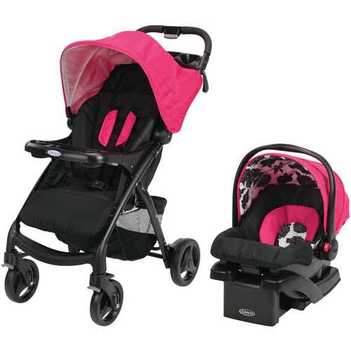Graco Verb Click Connect Stroller Travel System Infant Toddler Car Seat Azalea Walmart Com