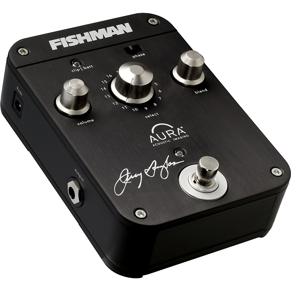 Fishman Aura Jerry Douglas Signature IMaging Pedal for Resonator by