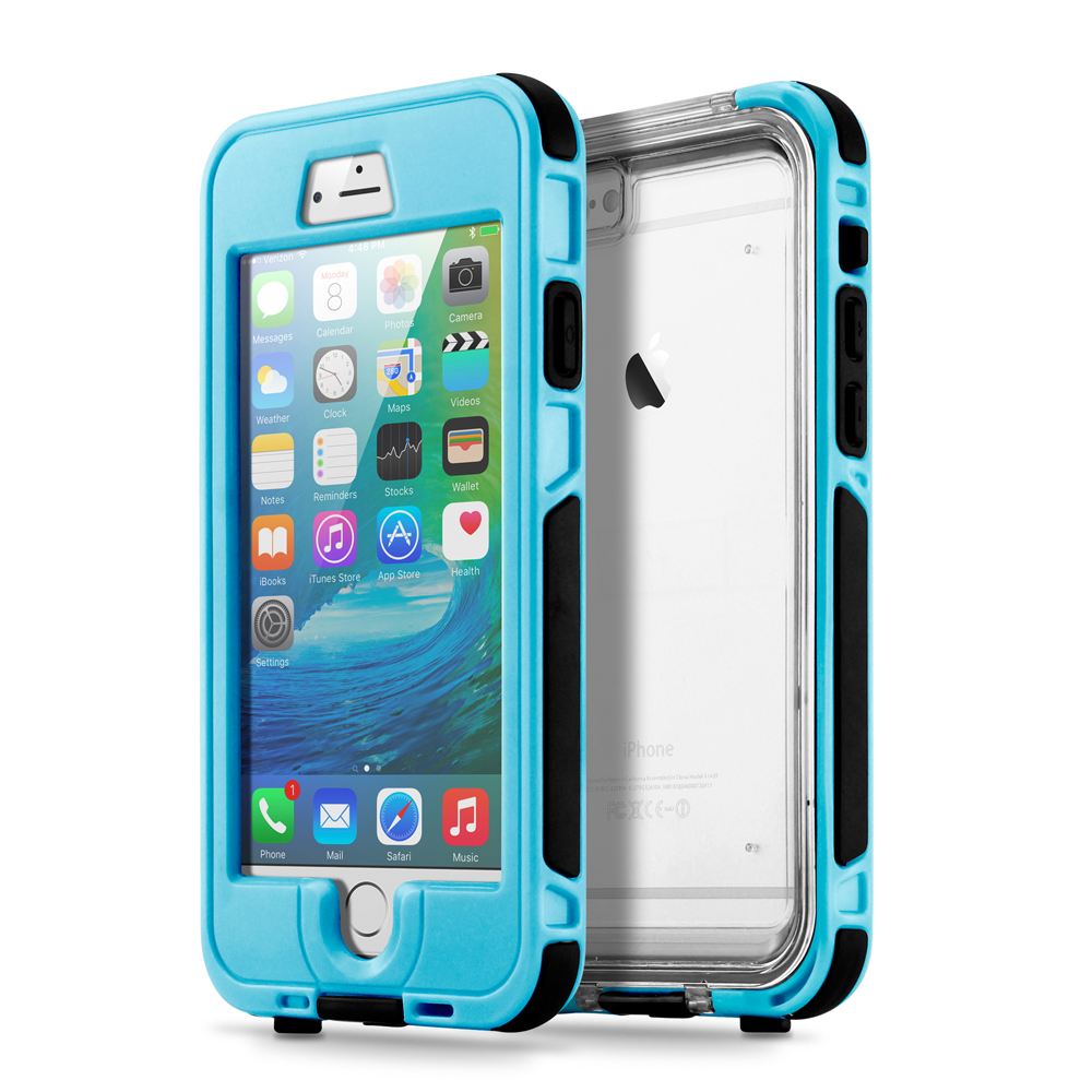 Waterproof Shockproof Dirt Snow Proof Durable Touch Screen Case Cover for Apple iPhone 6 / 6S Plus
