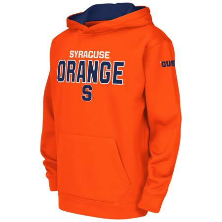 Youth Syracuse Orange Poly Pull Over Hoodie