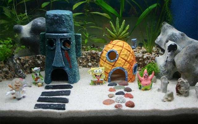 - Spongebob Aquarium Collection Set - Walmart.com
