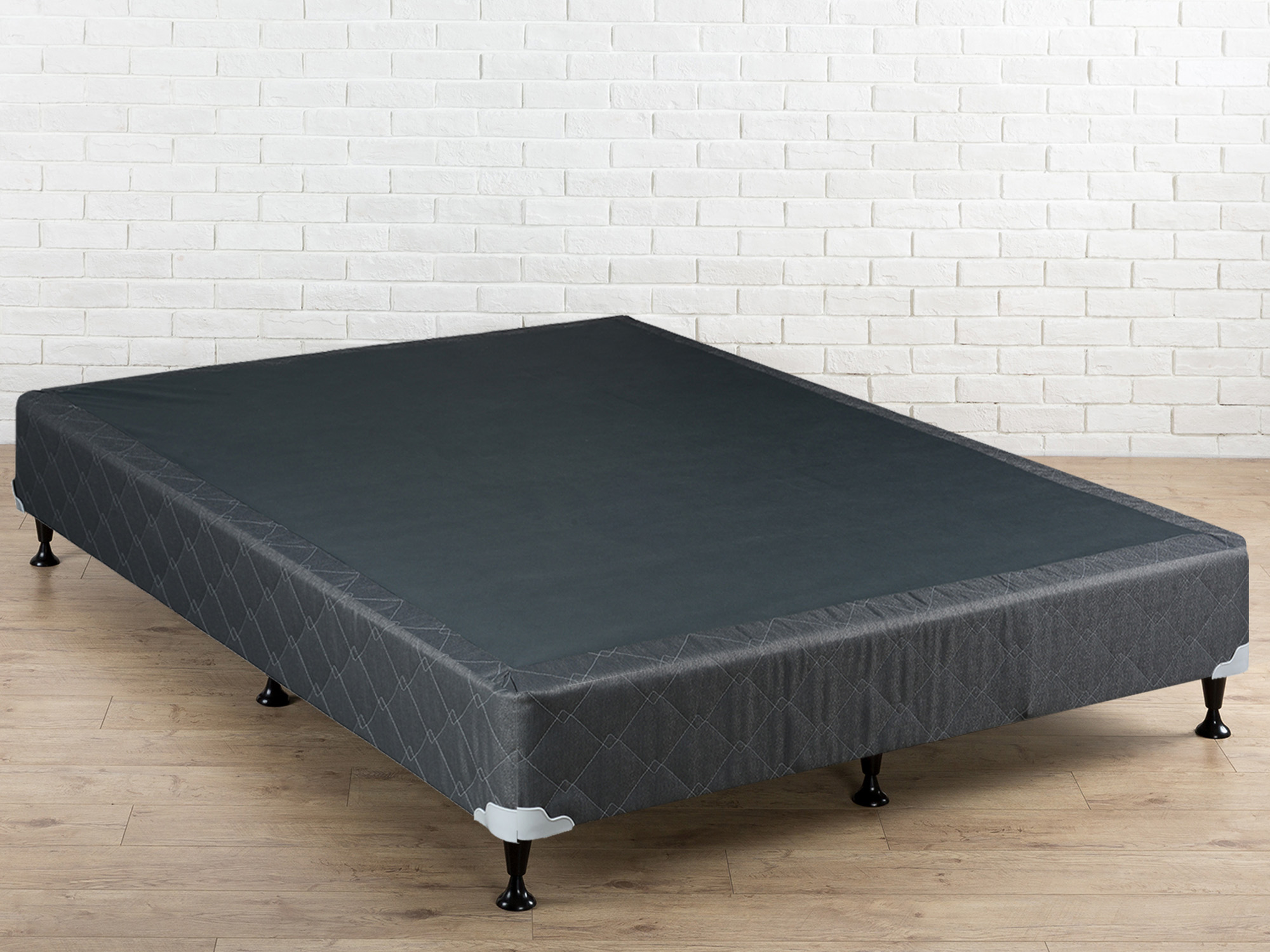 "WAYTON, 8"" Assembled Wood Box Spring/Foundation for Mattress, 