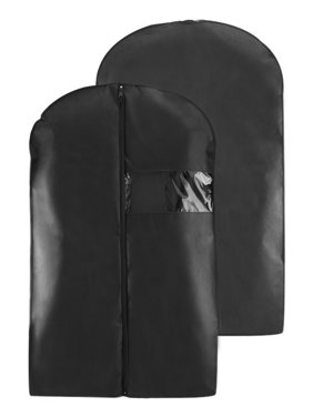 Product Image Houseables Black Breathable Suit Carrier Travel Garment Cover Coat Clothes Dress Bag 40