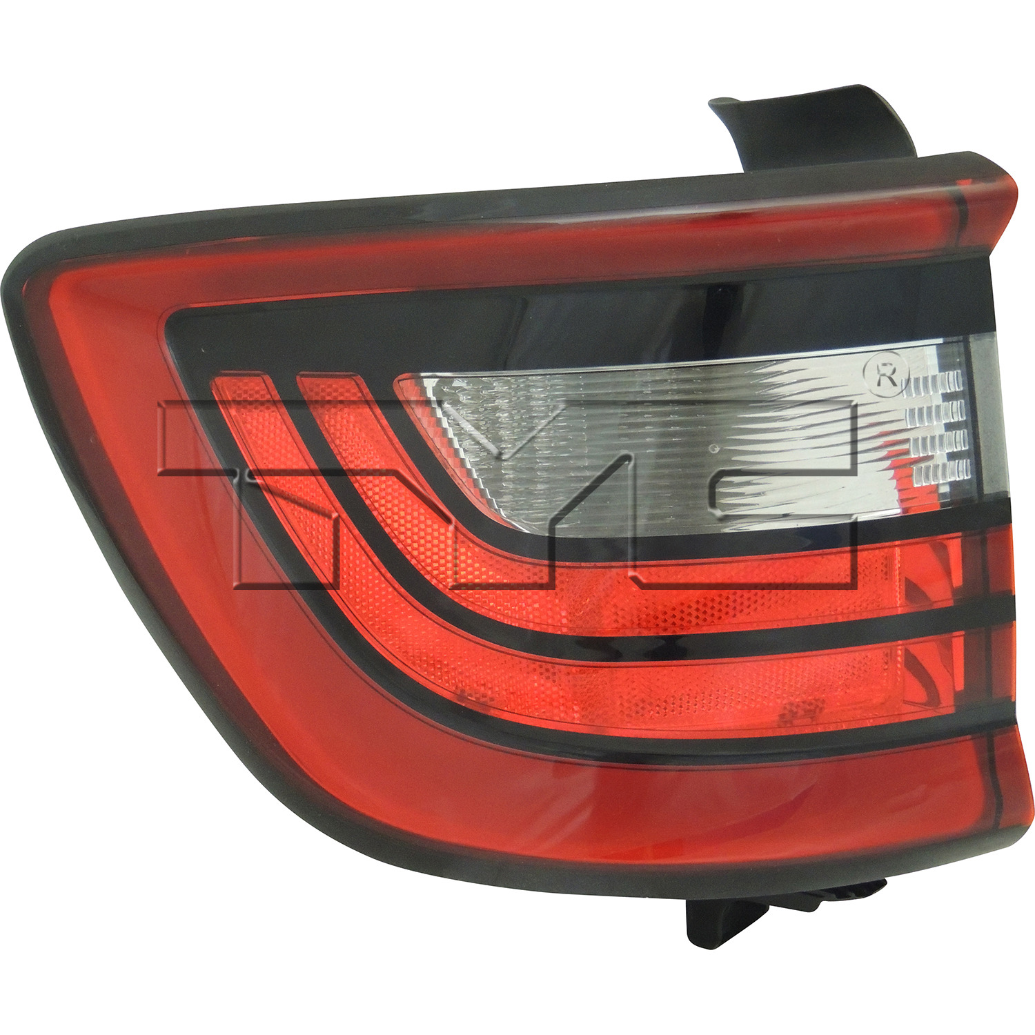 TYC 11-6678-00-1 Left Side Tail Light Assembly for 14-15 Dodge Durango CH2800206