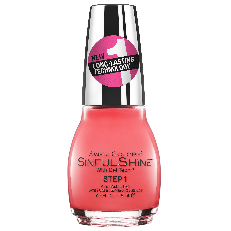 Sinful Colors Shine Gel Tech Nail Polish Spice Walmart Com Walmart Com