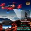 Grtsunsea GPS Smart Follow Me 5G Wifi 1080P HD Camera FPV RTF RC Drone Aircraft Quadcopter Helicopter, Support Fixed-point Flight, One-key Return Package Included:1 x SH2 Aircraft1 x Spare Battery4 x Spare Propellers4 x Protictive Shield1 x Remote control 1 x Screwdriver1 x USB Charging Cable1 x User manualSpecifications:Product name: RC DroneModel: SH2Color: BlackMaterial: ABS(Acrylonitrile Butadiene Styrene)Battery Capacity: 7.4V 1000mAhCharing time: about 40-50 minFlight time: about 15 minFrequency: 2.4GhzCamera pixel: 5 mega pixelPicture resolution: 1920P*1080PVideo Resolution: 1280P*720PFlight Control Distance: 500mReal-time Image Transmission Distance: 300mRemote Control Battery: 1.5V-AA*3(Not Included)Feature:-GPS positioning-300 meter HD FPV-Smart follow-5G wifi transmission-Fixed-point flight-One-key returnNote:-The color of the item may vary slightly due to photography and different PC monitor.-The size might be slightly errored due to manual measurement. Your kindly understanding would be appreciated.